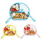 Baby Feeding Supplies Suction Plate Spoon Fork With Straw For Toddler Infant Kid
