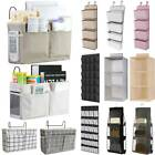 Hanging Over Door Organizer Storage Pocket Hook Wardrobe Holder Home Shelf Bag