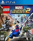 LEGO Marvel Super Heroes 2 (Sony PlayStation 4, 2017)