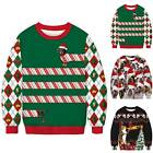Men Lady Christmas ‥ 3D Ugly Sweater Funny Couple Sweatshirt Pullover Jumper