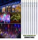 Xmas Lights LED outdoor meteor shower waterproof falling rain icicle decoration