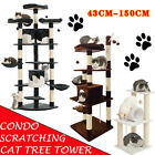 Cat Tree Scratcher Activity Center Cando Scratching Post Toy Bed 150CM