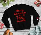 Merry Christmas Ya Filthy Animal Christmas Jumper - Home Alone Sweatshirt Xmas