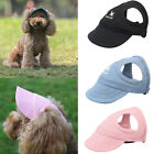 Pet Dog Hat Baseball Cap Outdoor Travel Sports Sun Hat Sun Protection Adjustable