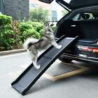 Bi-fold Portable Dog Ramp for Large Pet Folding Trunk Back Seat Ladder Step Car