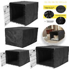 Dog Kennel House Cover Waterproof Dust-proof Oxford Pet Cat Cage Case 36'' 48''