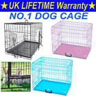 Cheap - Dog Cage Puppy Pet Crate Carrier - Small Medium Large S M L XL XXL Metal