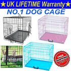 THICKEN DOG CAGE PUPPY TRAINING CRATE PET CARRIER-SMALL MEDIUM LARGE XL XXL CAGE