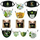 The Grinch Mouth Face Mask - Washable Reusable - Xmas Adult Cover Protection