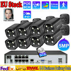 8CH 1080P Floodlight 2-Way Audio Night Vison Home POE NVR Camera Security System