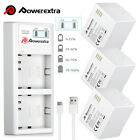 Electric Heated Socks W/ Rechargeable Battery Foot Winter Warm Skiing Hunting