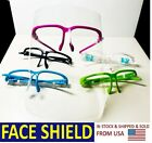 5X Sets Color Full Face Clear Shield Double-Side Anti-Fog US Seller Ship Fast