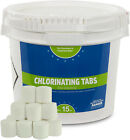 1' Inch 99% Trichloro Stabilized Swimming Pool Chlorine Tablets (Various Amount)
