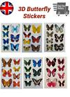 3d Butterfly Wall Art Decal Stickers Large Mural Home Decoration Art Craft Kids