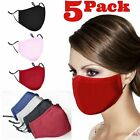Внешний вид - Adjustable ADULT Triple Layers Cotton Washable Reusable With Pocket Face Mask