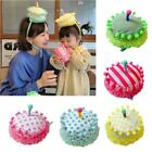 Baby Toddler Lovely Birthday Party Headband Birthday Cake Hat Kids Hairband