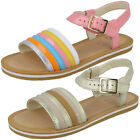 GIRLS CLARKS FINCH STRIDE BUCKLE CASUAL JUNIOR SUMMER KIDS SANDALS INFANT SIZE