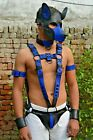 Men's Male Soft Leather Body Chest Bodysuit Harness Belt Night Clubwear Costume