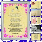 PERSONALISED FATHERS DAY POEM FOR DAD SPECIAL GIFT FOR HIM