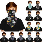 Kids Boys Girls Balaclava Face Mask Neck Gaiter Bandana Tube Scarf Cover Shield