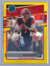 JOE BURROW 2020 DONRUSS OPTIC RATED ROOKIE AUTO GOLD PRIZM AUTO 07/10