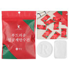 Clean Portable Compressed Towel Disposable Square Wipel Remover Cotton Tissue