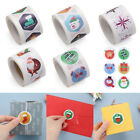 Sign Gifts Decoration Christmas Stickers Sticky Note Seal Sticker Santa Label