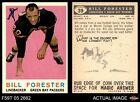 1959 Topps #39 Bill Forester Packers SMU 5 - EX