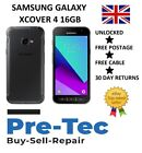 Samsung Galaxy Xcover 4 Black 16/2gb Rugged Android Builders Phone Unlocked