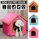 Foldable Warm Soft Dog House Pet Bed Tent Cat Kennel Portable Puppy Mat  // #!