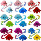 Внешний вид - Octopus Plush Reversible Soft Animal Home Accessories Mood Flip Stuffed Toy Lot