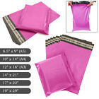 PINK STRONG MAILING MIXED BAGS PLASTIC POSTAL MAIL POSTAGE POLY