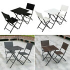 Rattan Furniture Set Outdoor Garden Coffee Table Chair Bistro Conservatory Patio