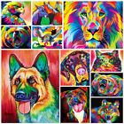 DIY Paint By Numbers Kit Digital Colorful Oil Painting Artwork Wall Home Decor