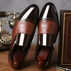 Men's Faux Leather Shoes Casual Pointed Toe Wedding Formal Office Work Shoes PU