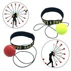 Boxing Punch Exercise Ball Head Band Reflex Speed Training Speedball Reaction G1