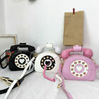 Handle Shoulder bag Purses for women Retro Phone Style Telephone Shaped Handbag