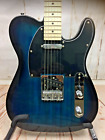 Glarry GTL Electric Guitar Maple Neck with Guitar Bag Strap Pick & Jack Cable