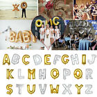 """Silver/Gold 16 40"""" Letter A-Z Foil Balloon Wedding Birthday New Year Party Decor"""