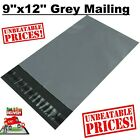 9''x12'' STRONG GREY MAILING POST MAIL POSTAL BAGS POLY POSTAGE SELF SEAL CHEAP