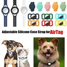 Pet Dog Cat Adjustable Protective Case GPS Collar Loop Holder for Apple AirTag
