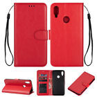 Magnetic Flip Leather Stand Wallet Case Cover For Xiaomi Redmi Note 10 7 6 Pro