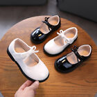Girls School Shoes Kids Baby Formal Evening Fancy Wedding Party Dress Shoes Size