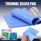Thermal Conductive Silicone Sheet Pad Laptop CPU Cooling 200x400mm Heatsink 1.2W