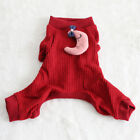 XXS XS Dog Clothes Pajamas Puppy Jumpsuit Apparel Sleepwear for Teacup Chihuahua