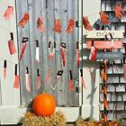 Bloody Garland Halloween Banner Party Decorations Supplies Halloween Party