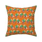 Retro Vintage 1960S Santa 1950S Throw Pillow Cover w Optional Insert by Roostery