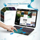 """10"""" Backlit Wireless Bluetooth Keyboard W/touchpad Fr Android Ios Window Tablet"""
