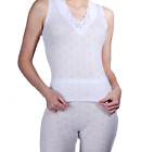 THERMAL SLEEVELESS SPENCER & LONG JOHN SET FOR WOMENS