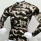 Take Five Mens Compression 062 Sports Top Military